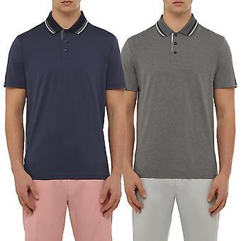 Wolsey mens kantelen ademend lichtgewicht Golf Polo shirt