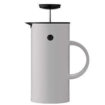 Stelton EM filtr prasowy dzbanek jasnoszary / jasnoszary ekspres do kawy o pojemności 1 litra