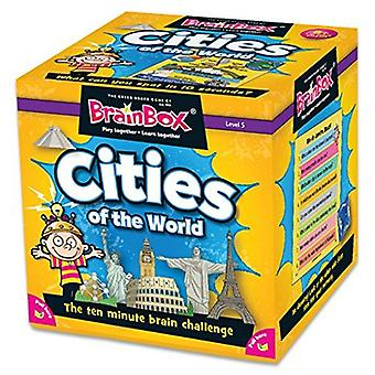 BrainBox Cities (55 Cards) Game