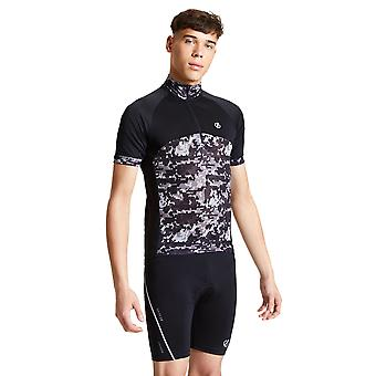 Adare 2b Hombres Estancia el curso Wicking Media Zip Ciclismo Camisa