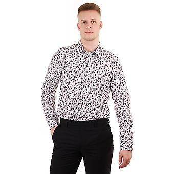 PS Paul Smith Tailored Fit Ls Floral Print Shirt