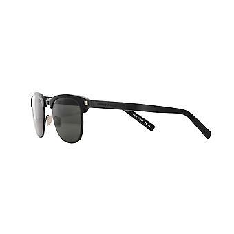 Saint Laurent SL 108 Slim 001 Black/Grey Sunglasses