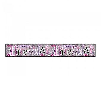 Simon Elvin Birthday Foil Banner (Pack of 6)
