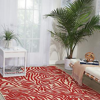 Aloha Indoor Outdoor Teppiche Alh04 In rot