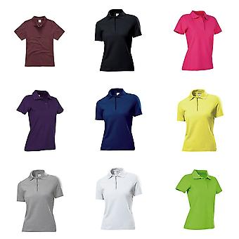 Stedman Womens/Ladies Cotton Polo