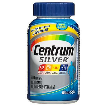 Centrum silver men 50+ multivitamin, tablets, 200 ea