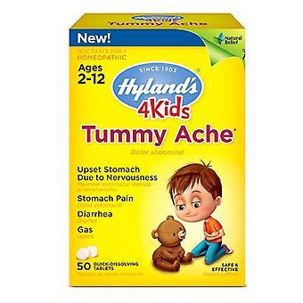 Hyland's homeopathic 4 kids tummy ache, 50 ea