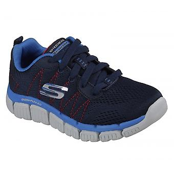 Skechers Skech-flex 2.0 Quick Pick Boys Trainers Navy/blue