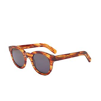 Monokel Eyewear Shiro Amber Grey Lens Sunglasses