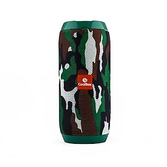 Bluetooth IM COOLTUBE 1200 mAh FM Camouflage 10W speakers