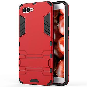 Shell pour Huawei Nova 2s Space Armor Red Hard Plastic Protection Case Case