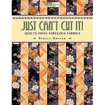 Just Cant Cut It Quilts from Fabulous Fabrics Print on Demand Edition by Mostek & Pamela