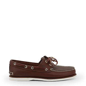 Timberland Classicboat Men Brown Moccasins -- CLAS329072