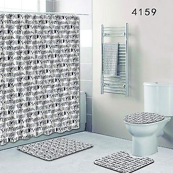 3PC Toilet Mat Modello di scala