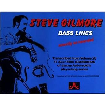 Bass Lines to 17 Jazz Standards (Double Bass with� Bass Clef Chord Symbols): Exactly as recorded on the� Jamey Aebersold Vol 25: All-Time Standards Play-A-Long
