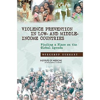 Violence Prevention in Low- and Middle-Income Countries - Finding a Pl