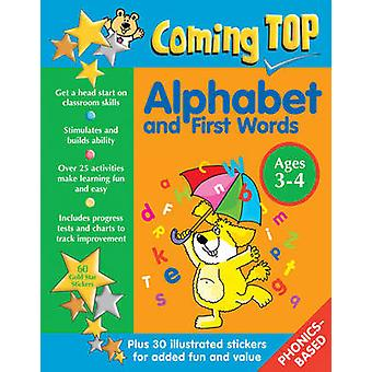 Coming Top - Alphabet and First Words - Ages 3-4 - 60 Gold Star Sticker