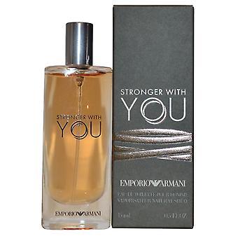 Armani Stronger With You Eau de Toilette Spray 15ml
