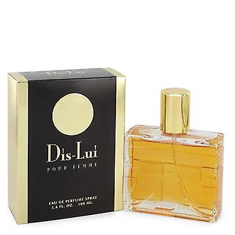 Dis Lui Eau De Parfum Spray By YZY Perfume 3.4 oz Eau De Parfum Spray