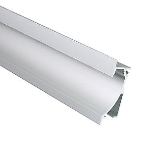 Jandei Profile Aluminum Strip LED 2 Meters Zocalo 76.4 * 26.2mm with Top