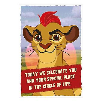 Hallmark Disney The Lion Guard Today We Celebrate You... Birthday Card 25470198