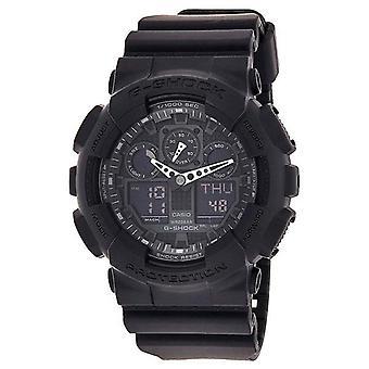 Casio G-Shock GA 100-1A1 sotilaallinen sarja Black Men & apos;