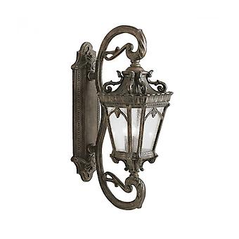 Wall Lamp Tournai 96 Cm, Cast Aluminum And Glass, Large