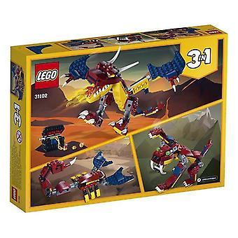 Playset Creator Fire dragon Lego 31102