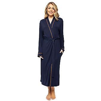 Cyberjammies Alexa 4514 Women's Navy Blue Long Robe