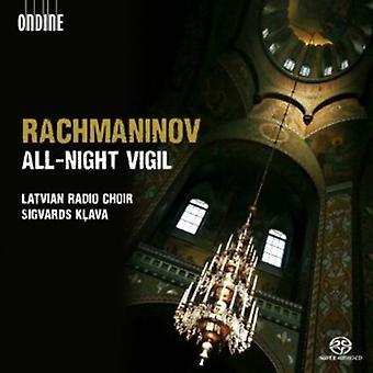 S. Rachmaninov - Rachmaninov: All-Night Vigil [CD] USA import