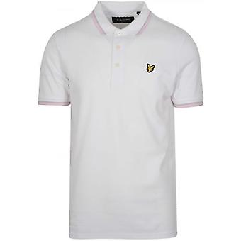 Lyle & Scott White Tipped Polo Shirt