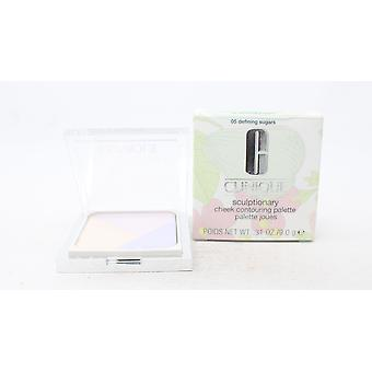 Clinique Sculptionary Contouring Cheek Palette 0.31oz 05 Defining Sugar New