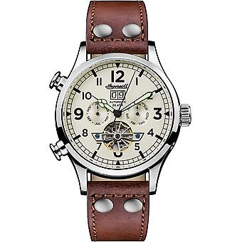 Ingersoll amstrong Automatic Analog Man Watch with Cowskin Bracelet I02101