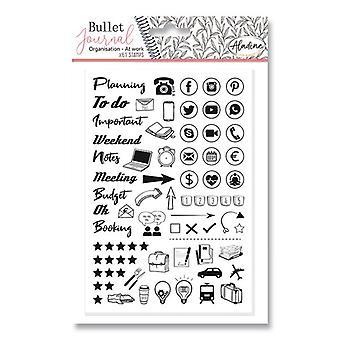 Aladine Bullet Journal Foam Timbres Bureau Bureau