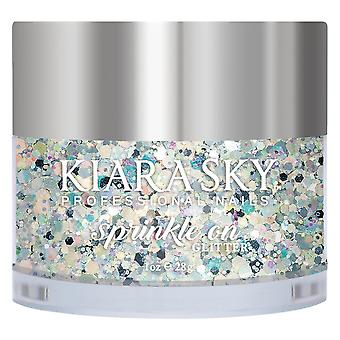 Kiara Sky Sprinkle On 3D Nail Glitters - A Night In Space 28g (SP202)