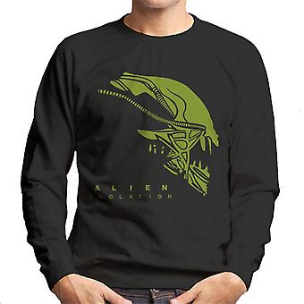 Alien isolering Xenomorph Head män ' s Sweatshirt