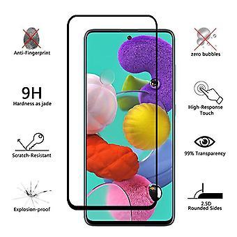iCoverCase ? Samsung Galaxy A51 Protector de pantalla integral