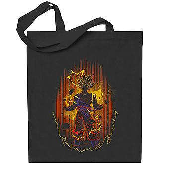 Dragon Ball Z Goku Shadow Totebag