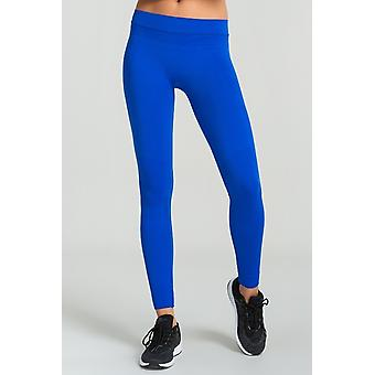 Jerf Womens Dover Blue Seamless Active Leggings