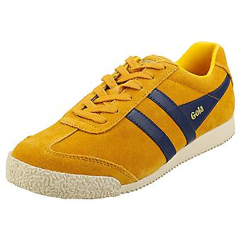 Gola Harrier Womens Classic Trainers in Sun Navy