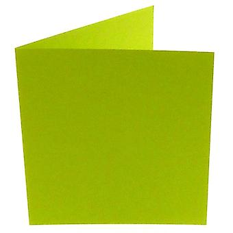 Papicolor Apple Green Square Double Cards