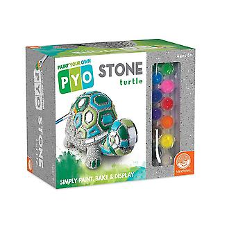 Paint your own stone - turtle