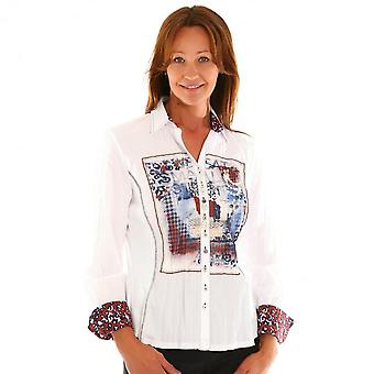 JUST WHITE Just White White Blouse 43378