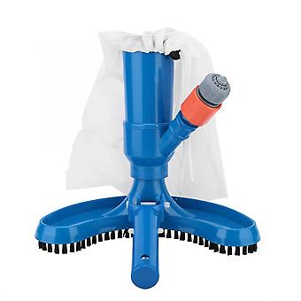 Ferramenta de limpeza portátil para aspirador de jato de piscina com escova
