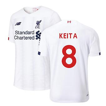 2019-2020 Liverpool Away Football Shirt (Keita 8)