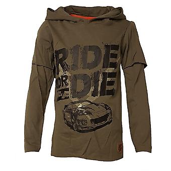 Fast and furious boys t-shirt with hood ff7693tsh