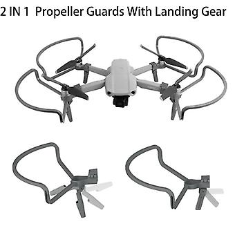 Propeller-guards With Heightening Landing-gears Propellers-protector Shielding Rings For Dji Mavic Air 2 Drone Accessories