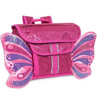 Mochila De mariposa de rubí brillante (pequeña)