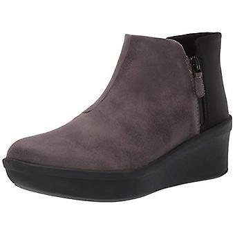 كلاركس المرأة & ق الأحذية خطوة ارتفع الجلد مغلقة أحذية أزياء الكاحل