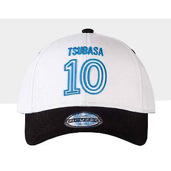 Captain Tsubasa Baseball Cap 10 Logo new Official White Strapback